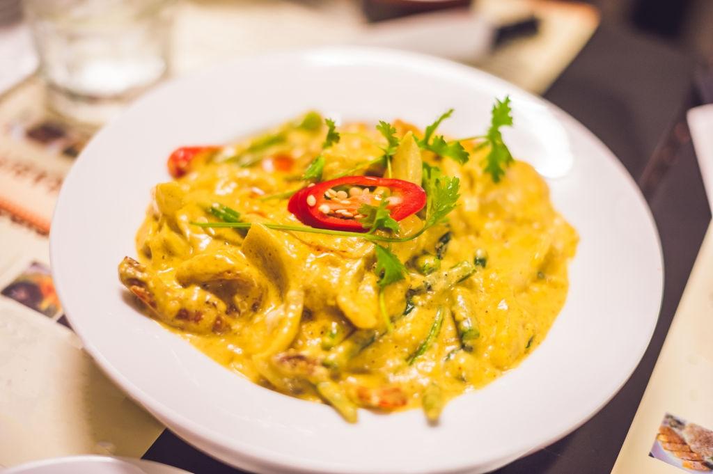 Veg Thai Green Curry Recipe