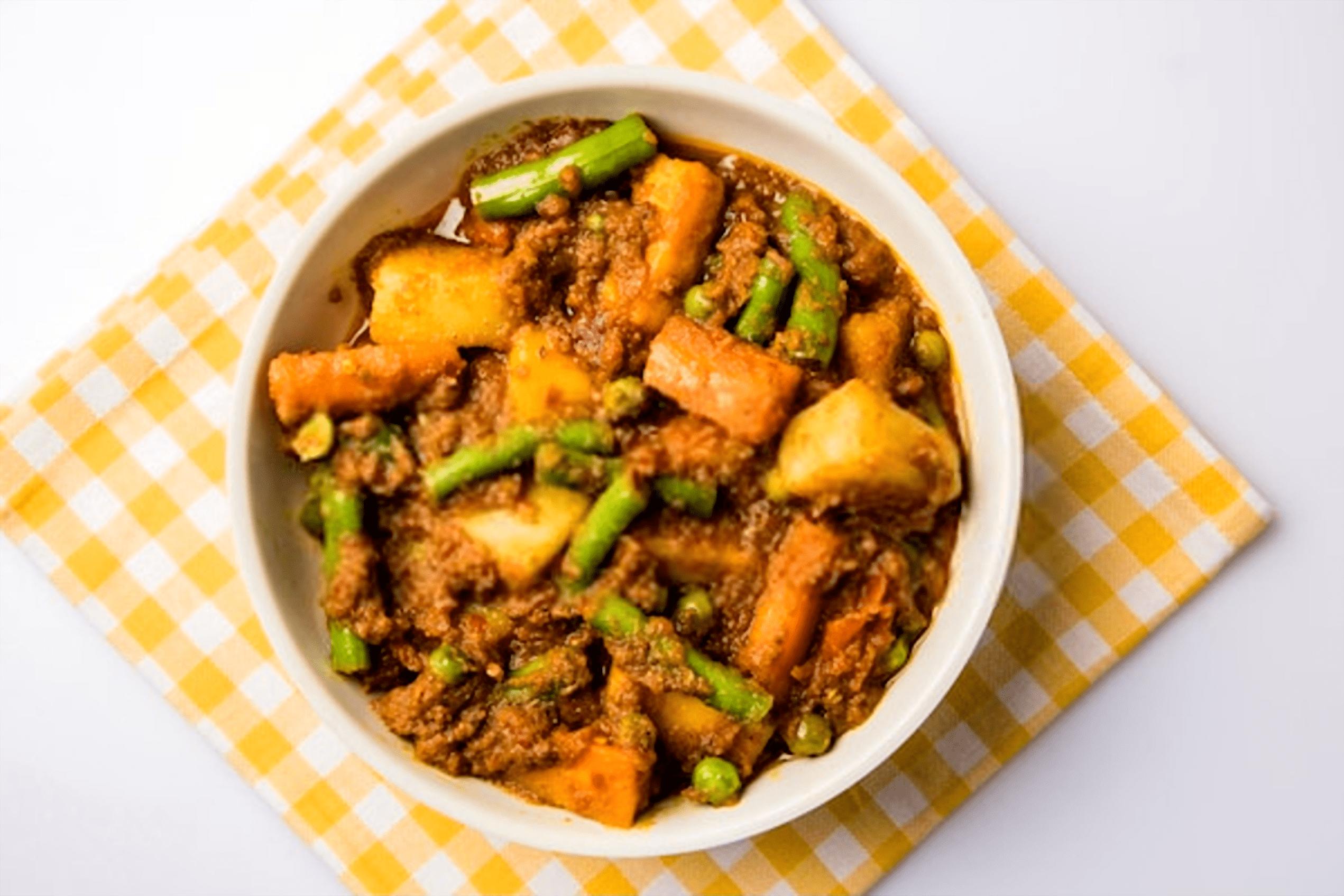 Vegetable Sri Lankan Curry Recipe