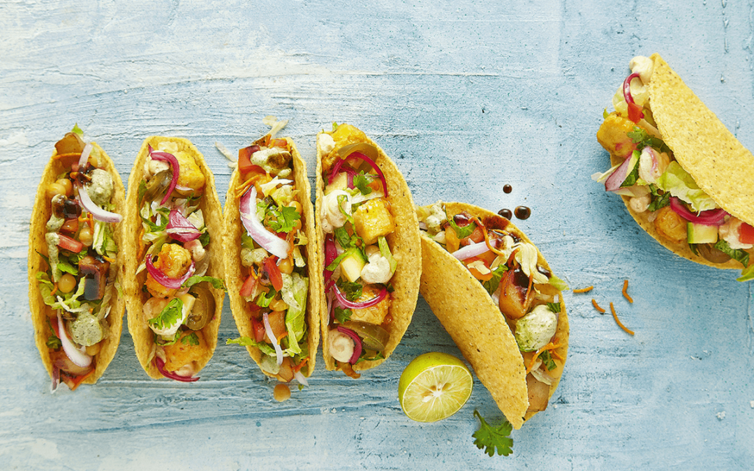 Do-It-Yourself Veg Tacos Recipe