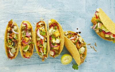 Do-It-Yourself Veg Tacos Recipe
