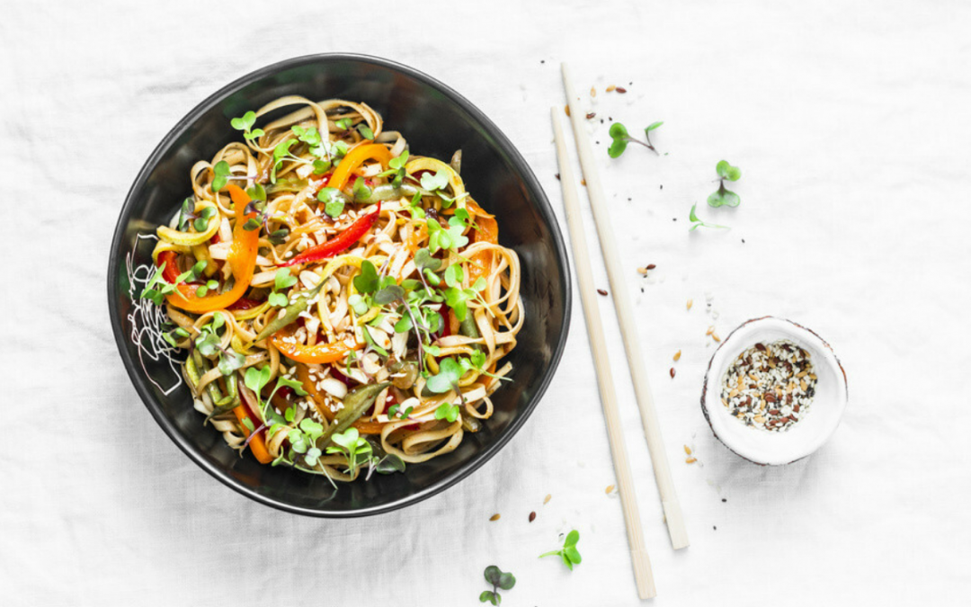 Authentic Veg Pad Thai Noodles Recipe That You'll Love
