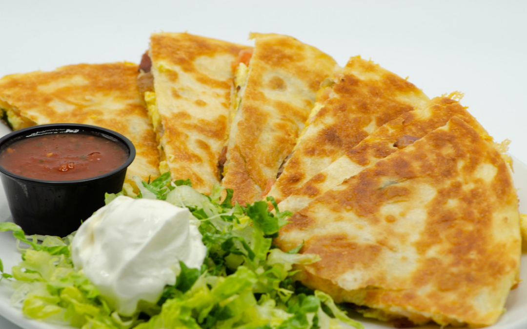 Easy Chicken Quesadilla Recipe with Chicken