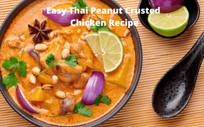 Easy Thai Peanut Crusted Chicken Recipe